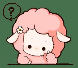 Fluffy sheep sticker #175260