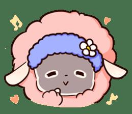 Fluffy sheep sticker #175268