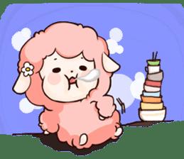 Fluffy sheep sticker #175269
