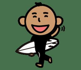 Surfer Taro sticker #176521