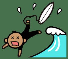 Surfer Taro sticker #176522