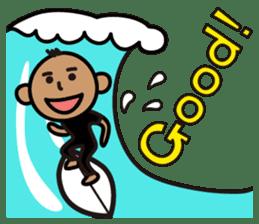 Surfer Taro sticker #176534