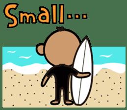 Surfer Taro sticker #176536