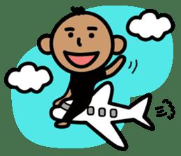Surfer Taro sticker #176539