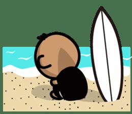 Surfer Taro sticker #176542