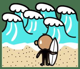 Surfer Taro sticker #176545