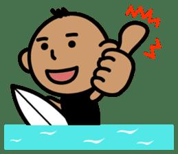 Surfer Taro sticker #176560