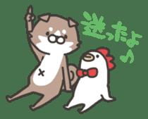 shibainu&tebasakisan sticker #176682