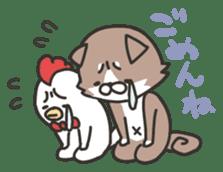 shibainu&tebasakisan sticker #176685