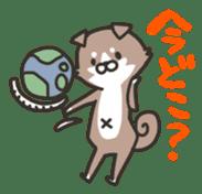shibainu&tebasakisan sticker #176690