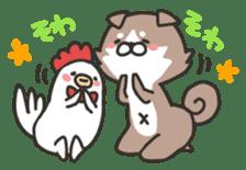 shibainu&tebasakisan sticker #176702