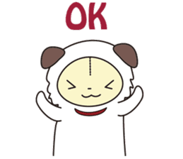 Kemogurumi sticker #176844