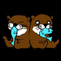 Chilling Otter.