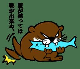 Chilling Otter. sticker #177392