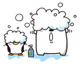AAUGH! Polar bear & Penguin sticker #178035
