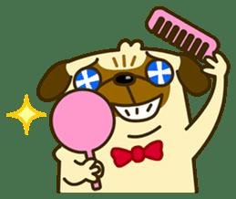 Pug Boo dog's Life sticker #178082