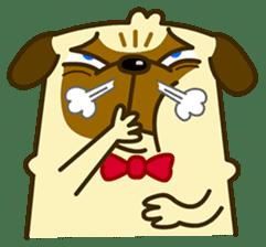 Pug Boo dog's Life sticker #178088