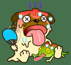 Pug Boo dog's Life sticker #178113