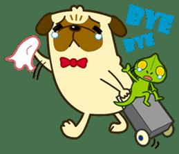 Pug Boo dog's Life sticker #178120