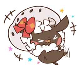 Yukimochi & friends sticker #178208
