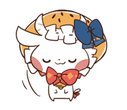 Yukimochi & friends sticker #178224