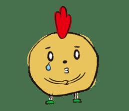 Fried chicken boy sticker #179201