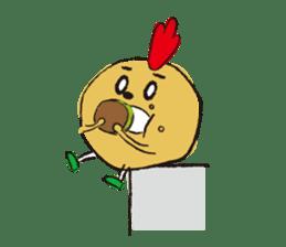 Fried chicken boy sticker #179213