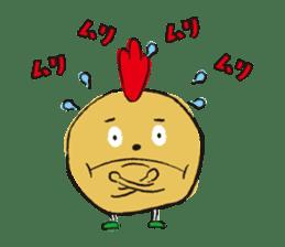 Fried chicken boy sticker #179233