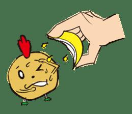 Fried chicken boy sticker #179237
