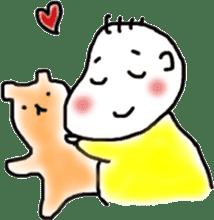 Feeling of baby sticker #179926