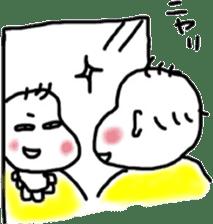 Feeling of baby sticker #179931
