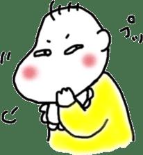 Feeling of baby sticker #179959