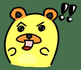 Crazy Bear sticker #180813