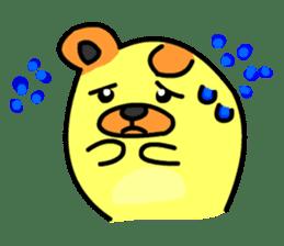 Crazy Bear sticker #180814