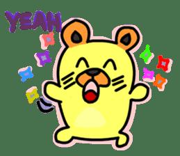 Crazy Bear sticker #180818