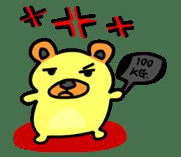 Crazy Bear sticker #180822