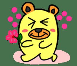 Crazy Bear sticker #180827