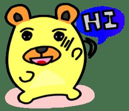 Crazy Bear sticker #180830