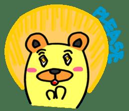 Crazy Bear sticker #180831