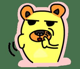 Crazy Bear sticker #180832