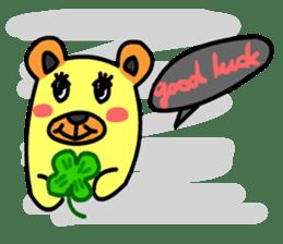 Crazy Bear sticker #180833