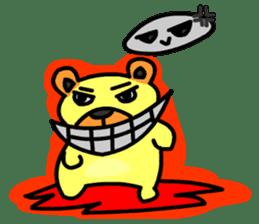 Crazy Bear sticker #180834