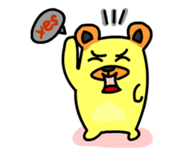 Crazy Bear sticker #180835