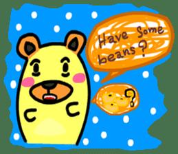 Crazy Bear sticker #180839