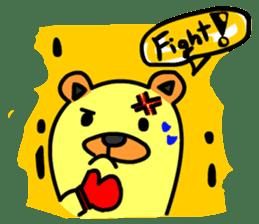 Crazy Bear sticker #180844