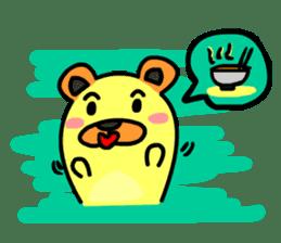Crazy Bear sticker #180846