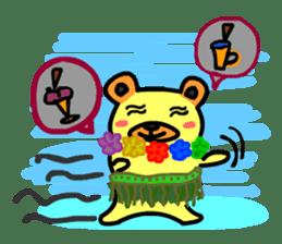 Crazy Bear sticker #180848