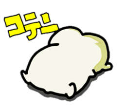 hip hamster tenco sticker #181330