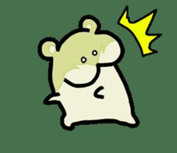 hip hamster tenco sticker #181343