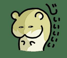 hip hamster tenco sticker #181359